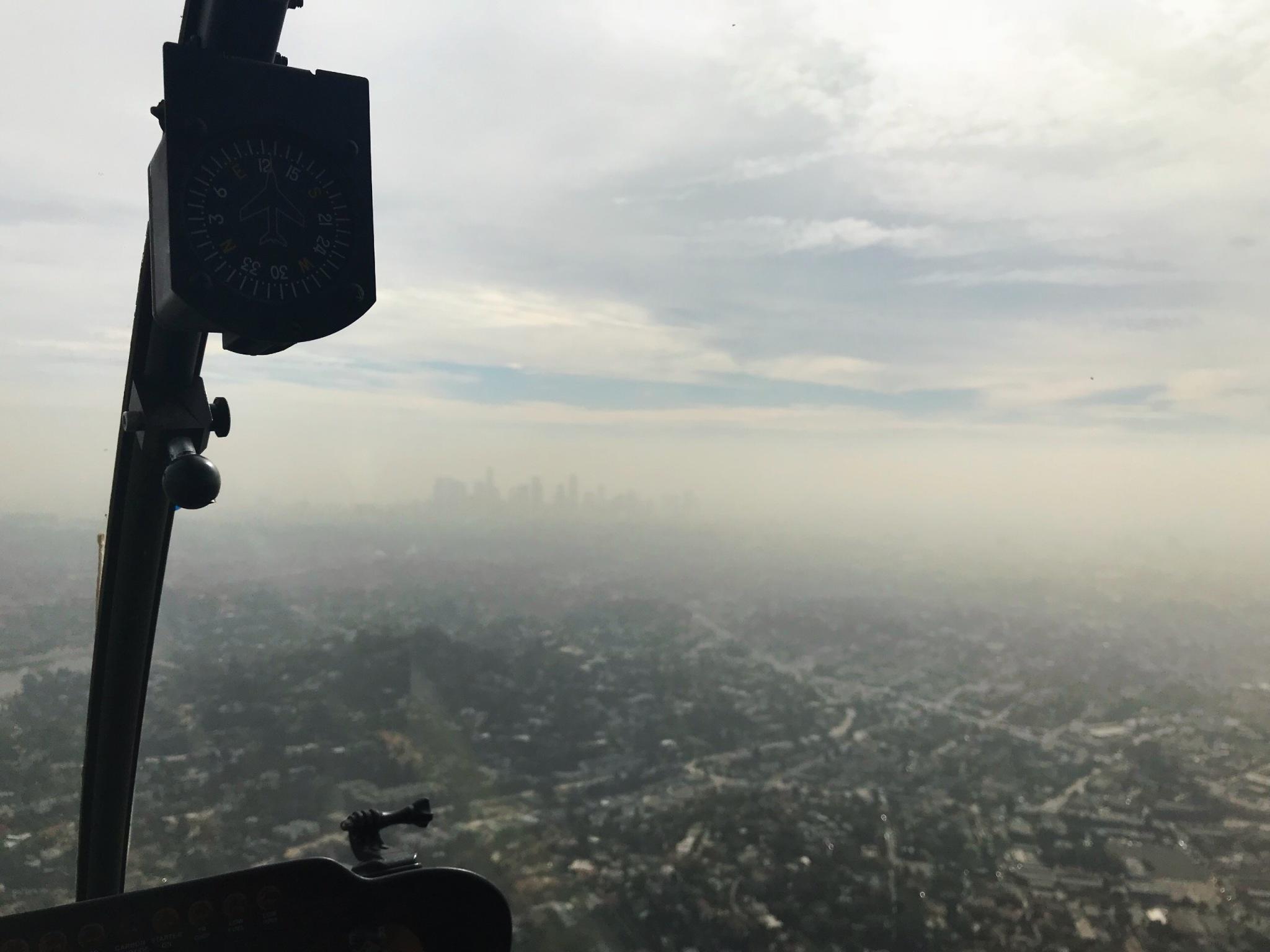 Downtown în ceață