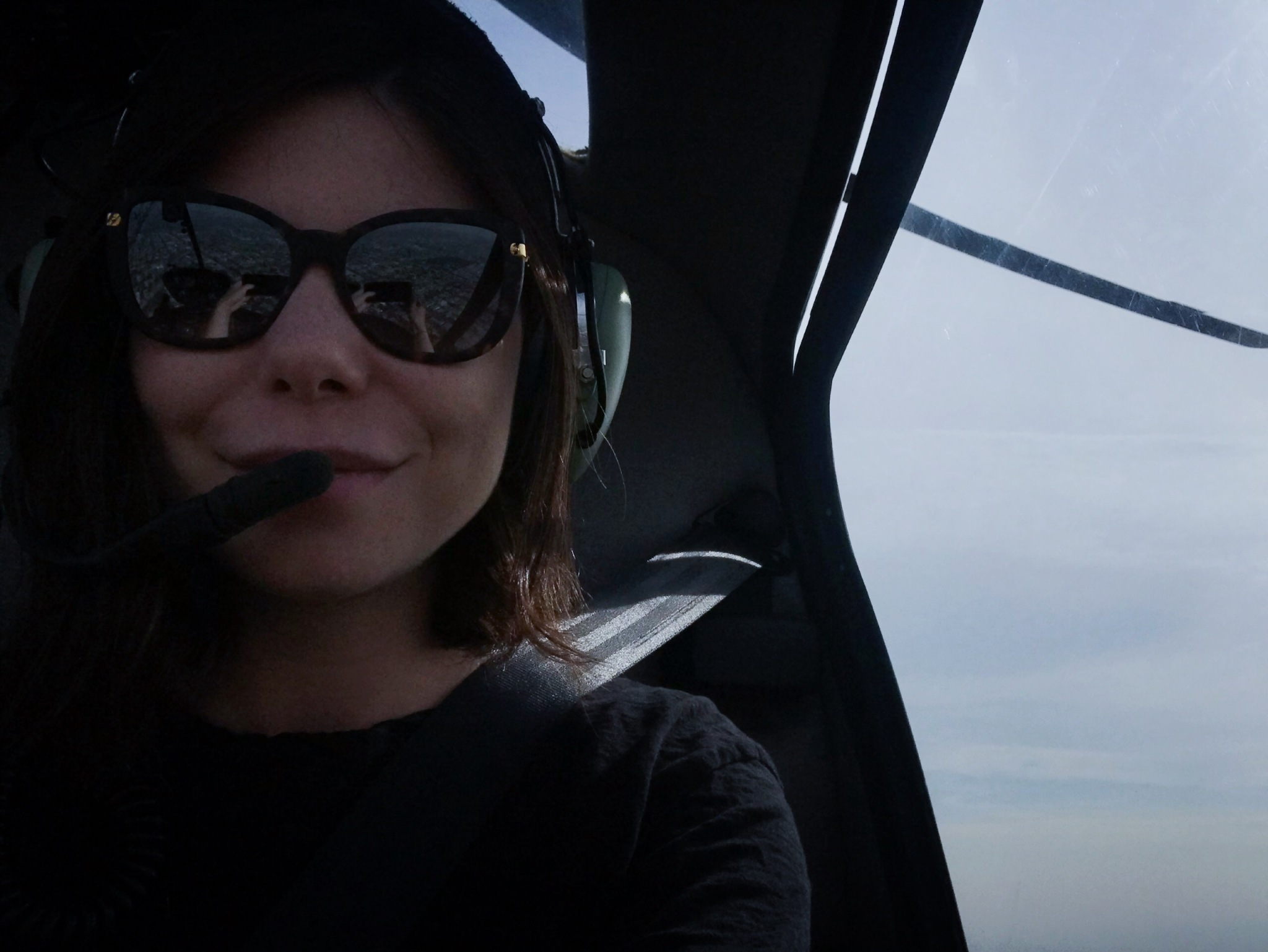Me in helicopter