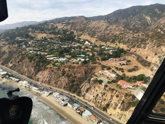 Malibu helicopter view 2