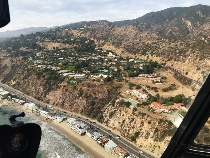 Malibu helicopter view 2