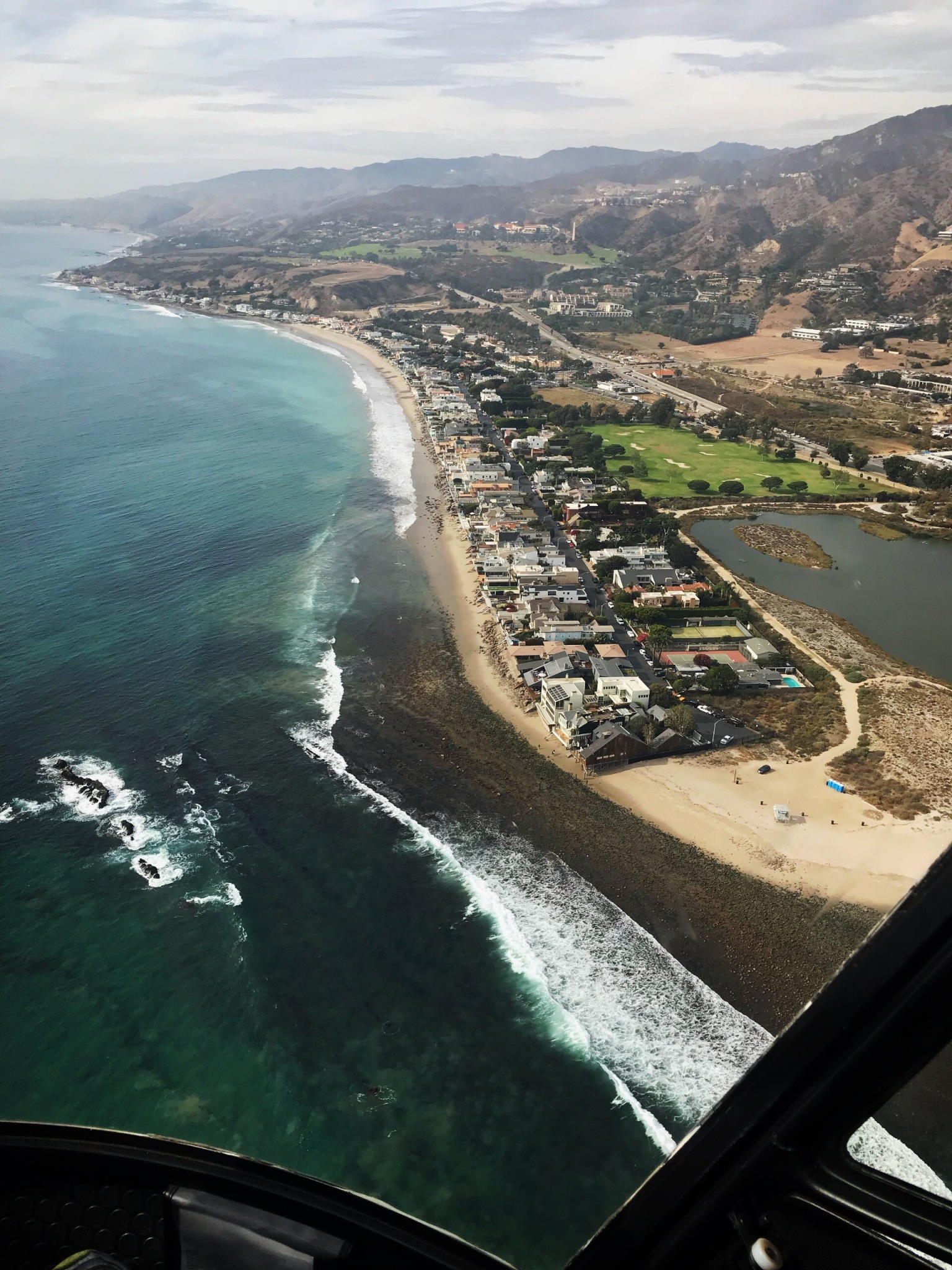 Malibu helicopter view 3