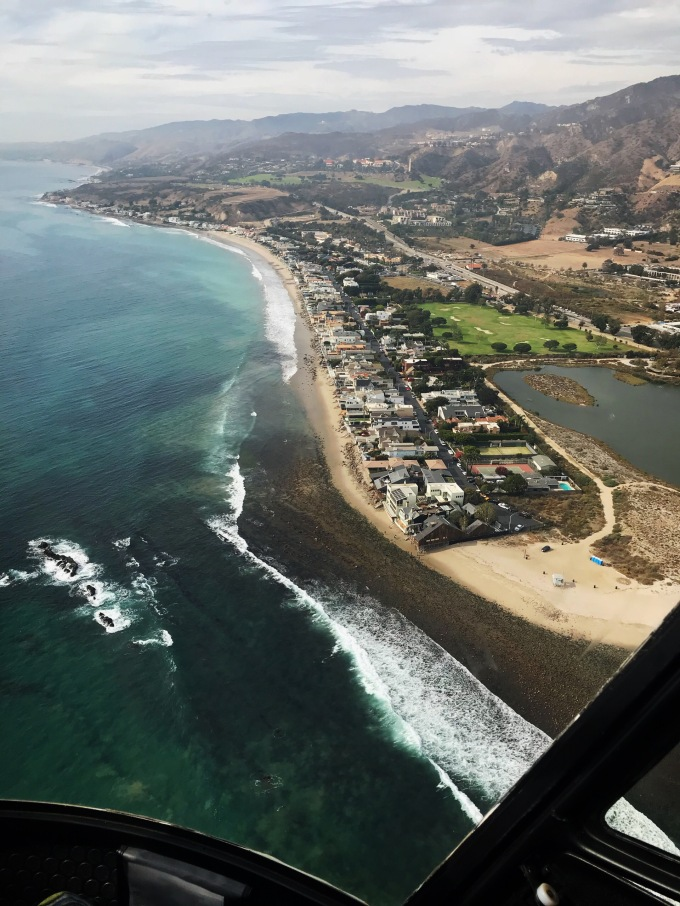 Malibu helicopter view 3