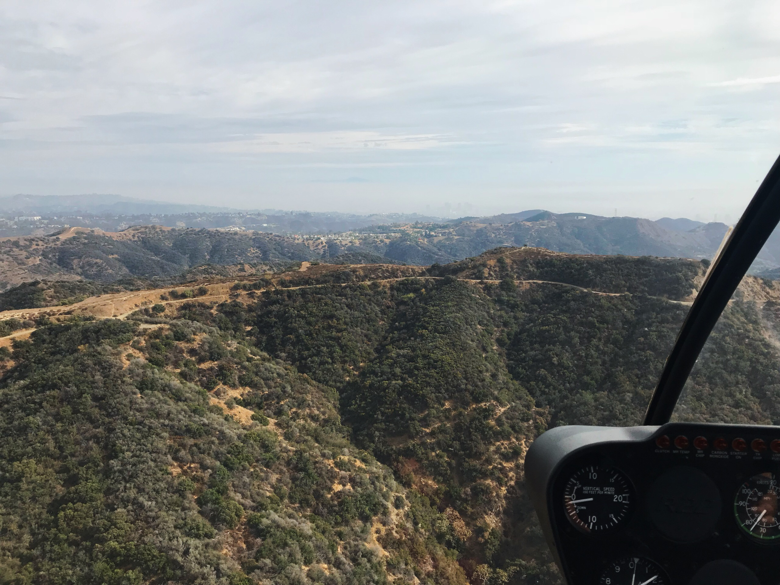Calabasas helicopter view 2