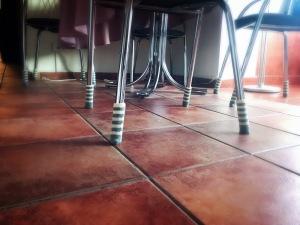 Scaune cu șosete