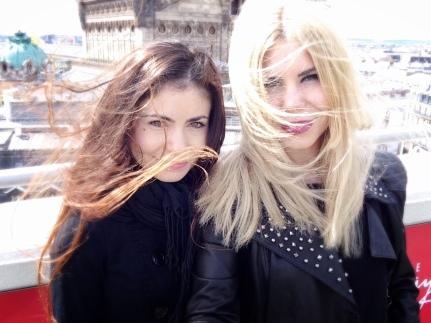 Ultima oară când am fost la Paris cu sora mea pe Galeriile Lafayette