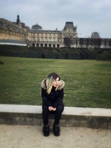 Ultima oară când am fost la Paris cu mama - Louvre