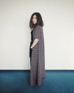 Kimono lung cu mânuțe
