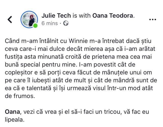 Julie text